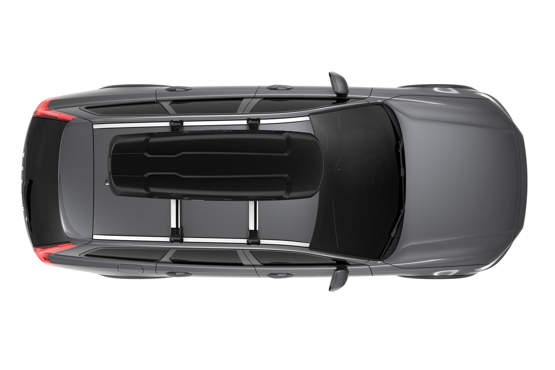 Автомобильный бокс Thule Force XT Sport ( 600 ) Чёрный матовый NEW 2018