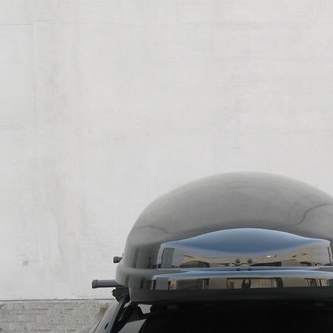 Бокс FARAD ZEUS 630L - Чёрный глянец - двухстронний - усиленный ( Фарад Зевс 630 ) - ( 210 x 90 x 42 см )
